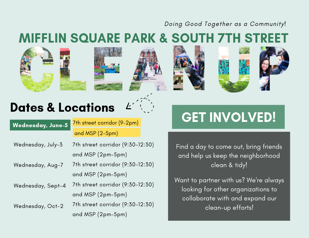 New CleanUp Flyer