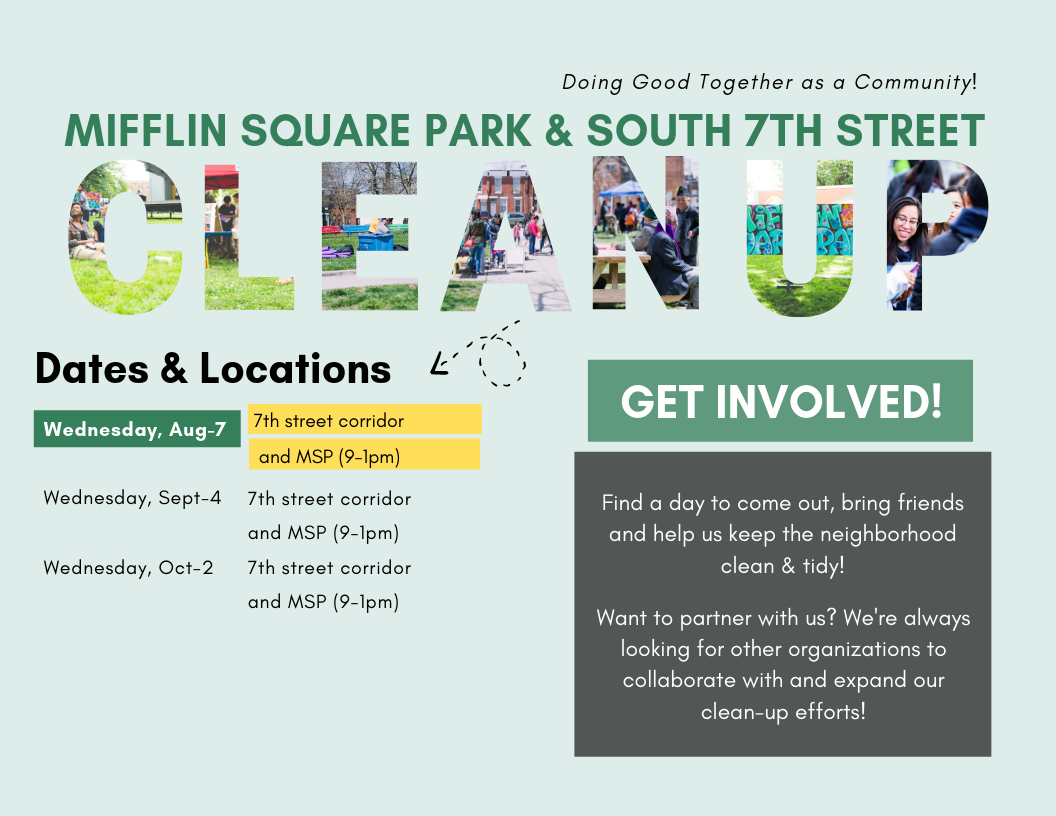New Time CleanUp Flyer